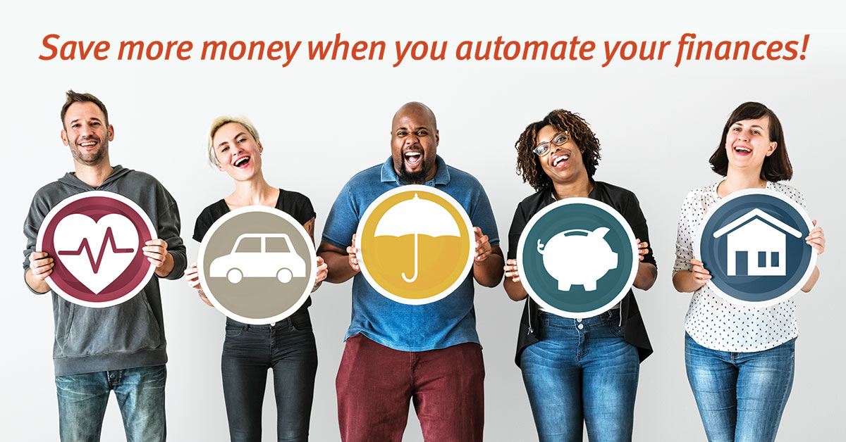 Save Money when you Automate your Finances