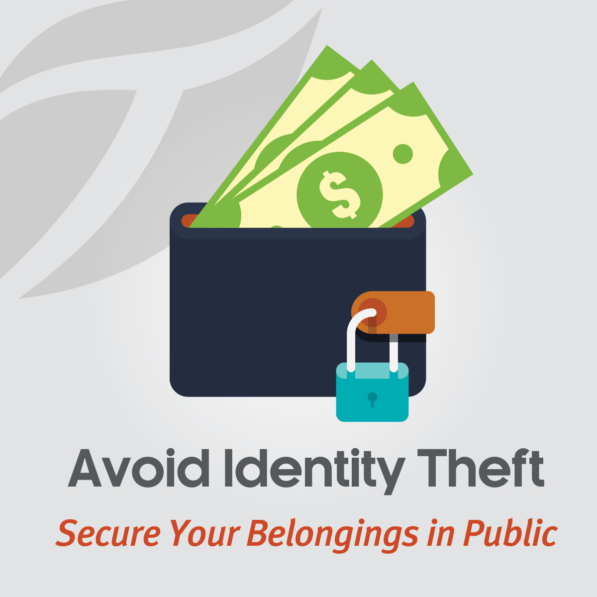 Secure Your Belongings in Public