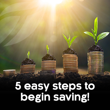 5 Easy Steps to Start Saving