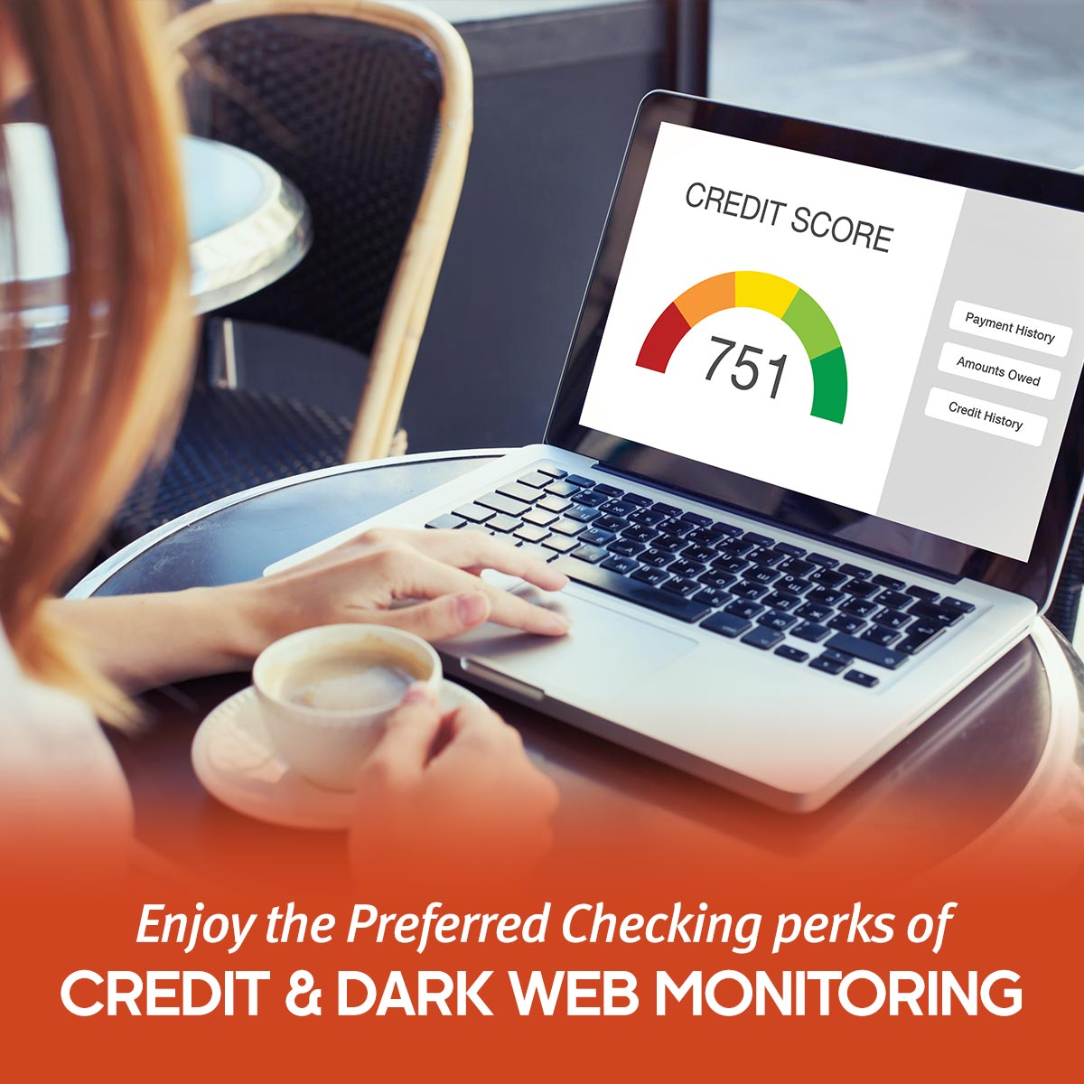 You're Covered with Credit and Dark Web Monitoring