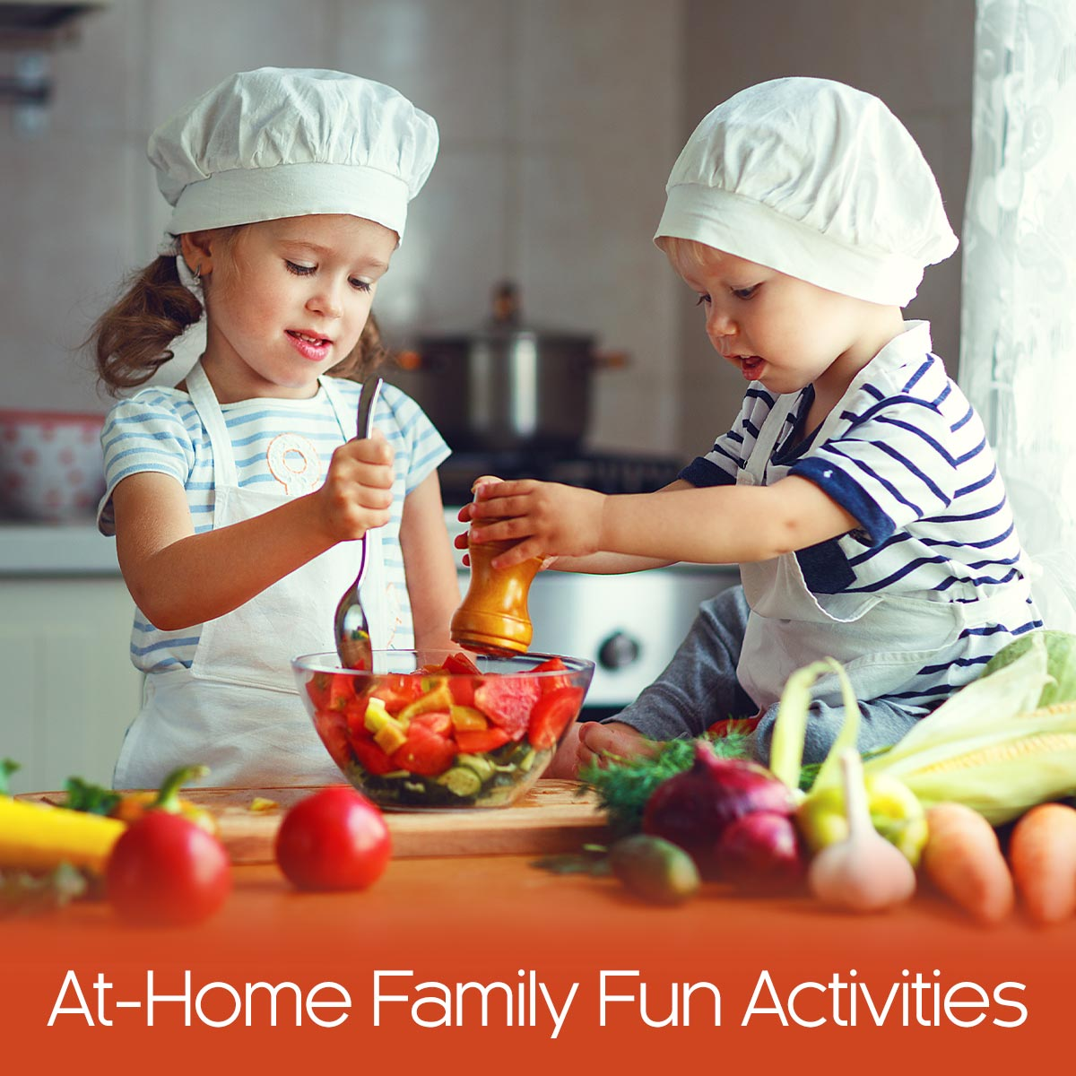 At-Home Family Fun Activities