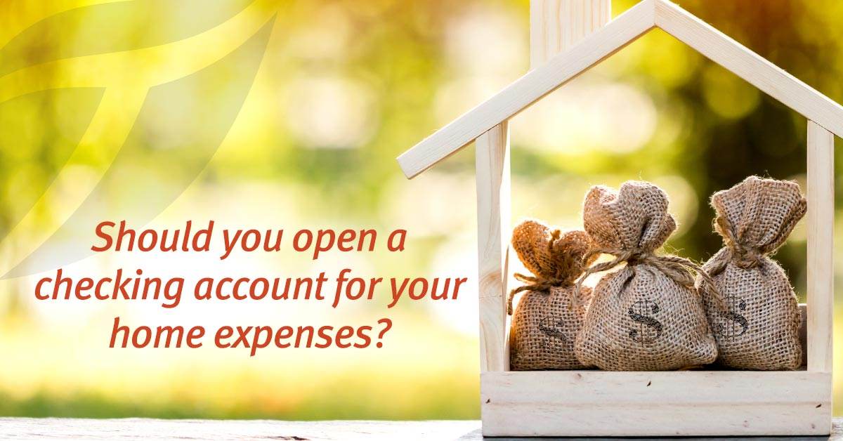 A Checking Account for Home Loans