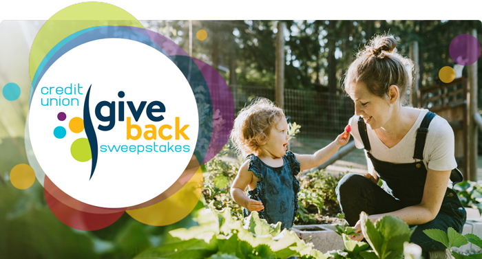 Credit Union Give Back Sweepstakes