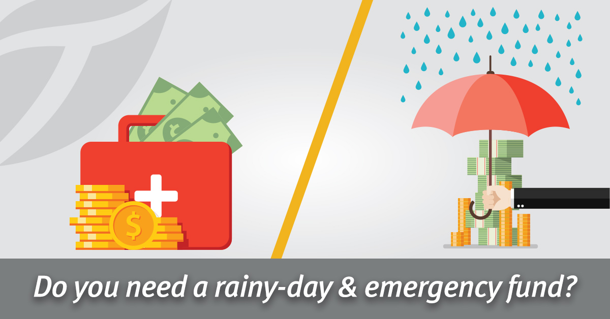 Do I Need an Emergency Fund and a Rainy-Day Fund?