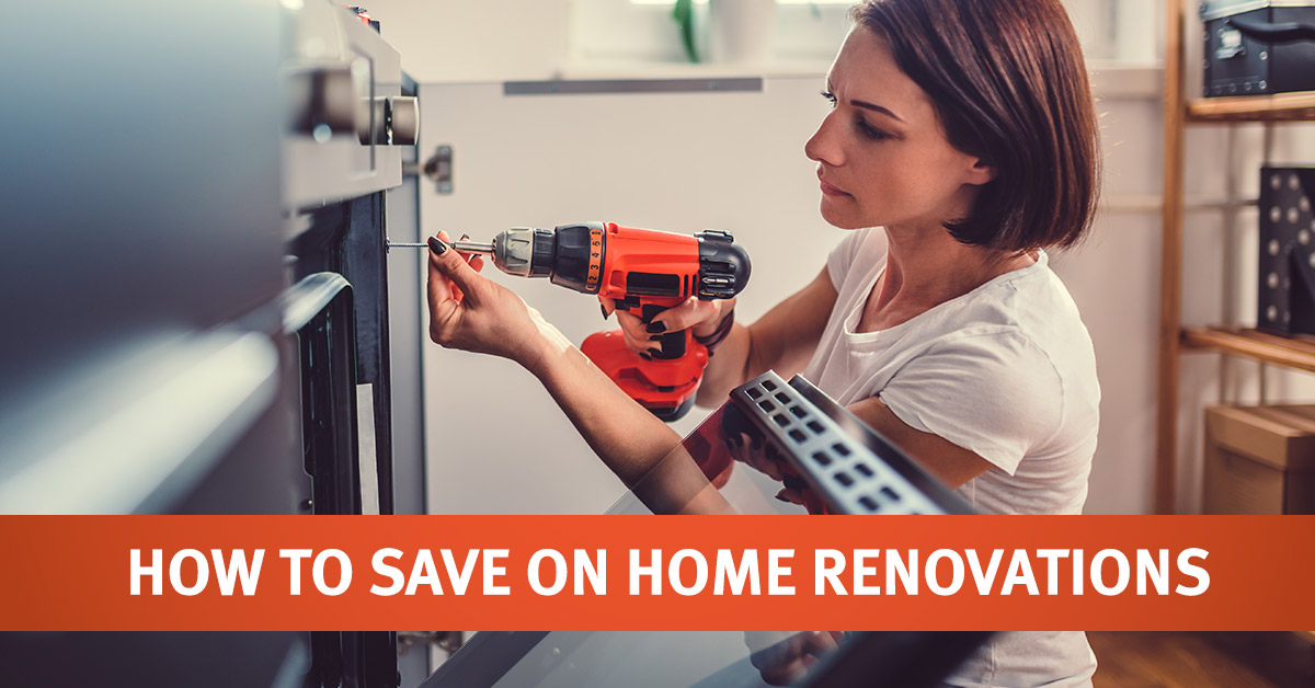 Saving on Home Renovations