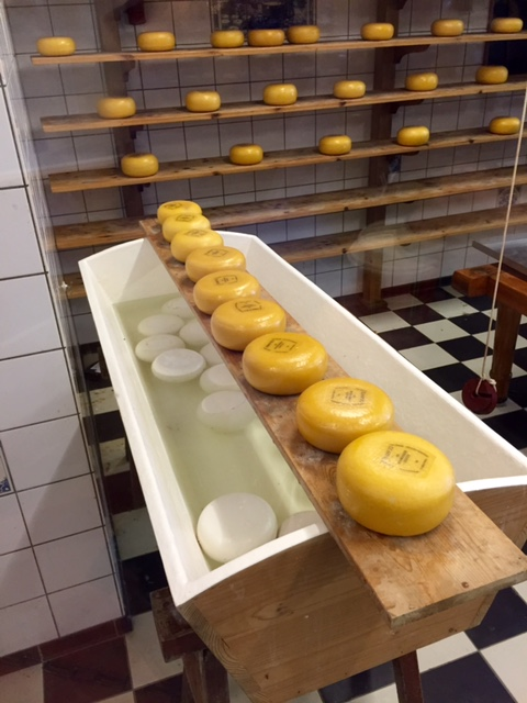 Zaanse Schans Cheese Wheels