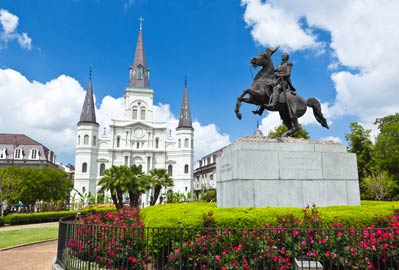New Orleans, St. Louis Cathedral in Jackson Square