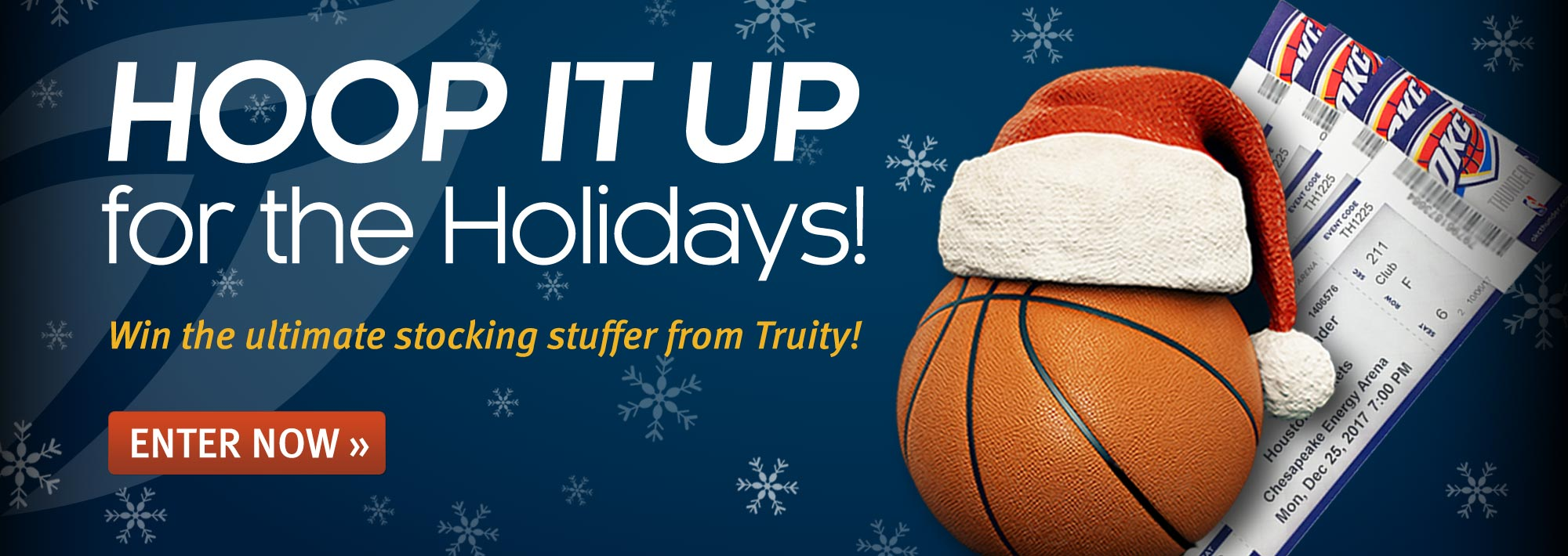 Hoop it up for the Holidays! Win the ultimate stocking stuffer from Truity!