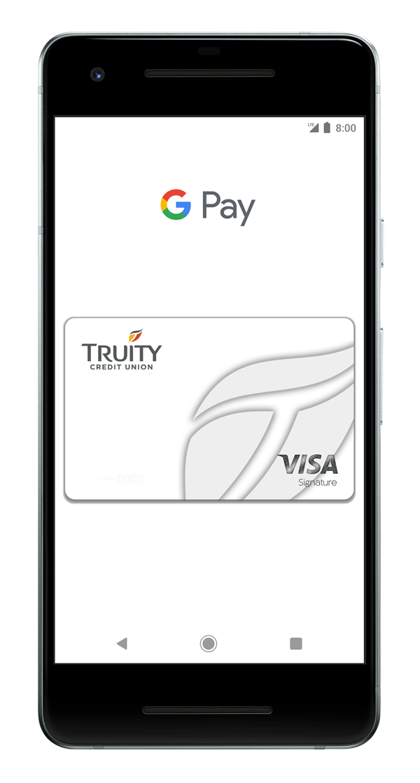Truity Google Pay