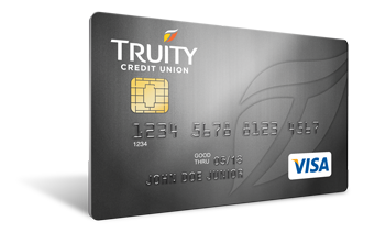 Truity Credit Union's Platinum Rate Card