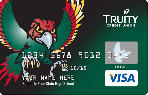 The Free State Card supports Free State High School