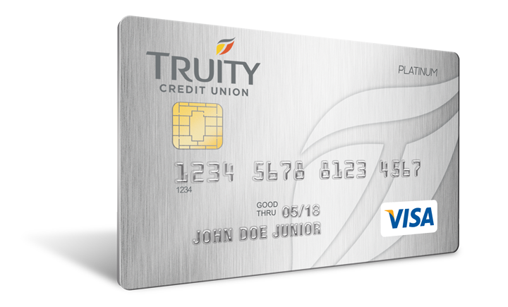 Truity Credit Union's Platinum Rewards Card