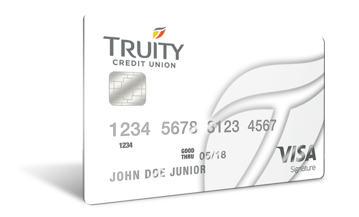 Truity Credit Union's Signature Rewards Card