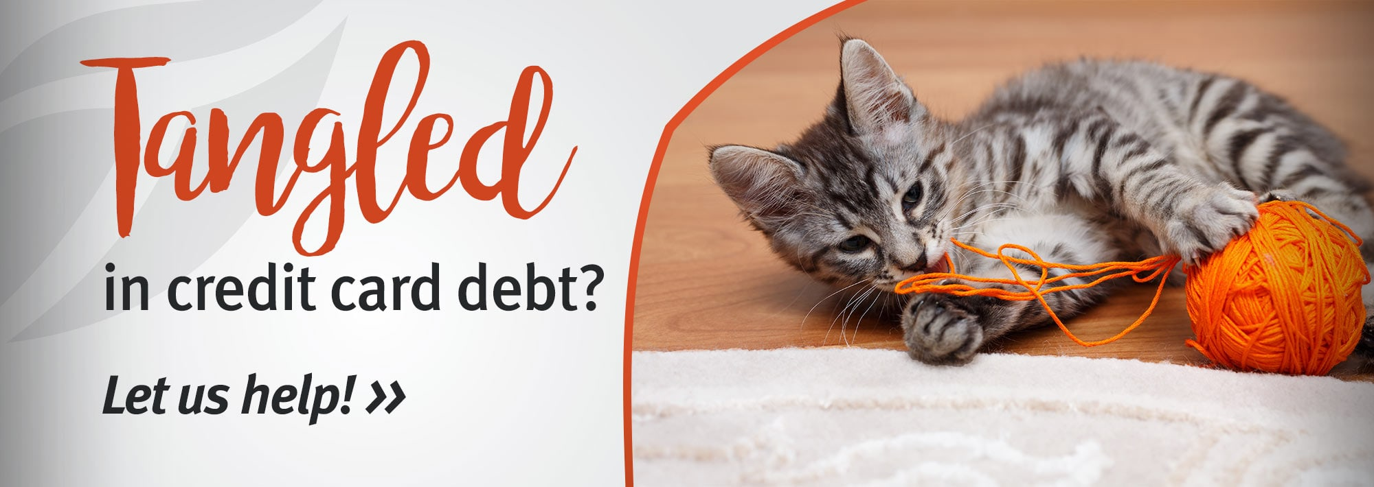 Tangled in credit card debt? Let us help!